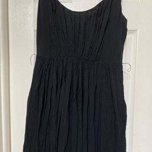 Madewell Size 2 Black Maxi Gauze Dress